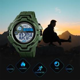 SKMEI Jam Tangan Digital Pria Pedometer Compass - 1447 - Black - 3