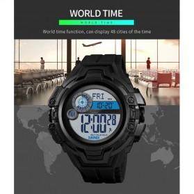 SKMEI Jam Tangan Digital Pria Pedometer Compass - 1447 - Black - 7
