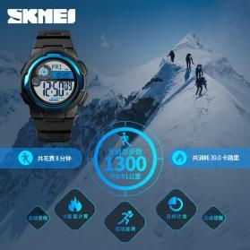 SKMEI Jam Tangan Digital Pria Pedometer Compass - 1424 - Black - 2