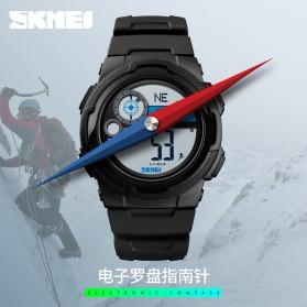 SKMEI Jam Tangan Digital Pria Pedometer Compass - 1424 - Black - 3