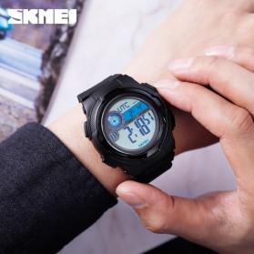 SKMEI Jam Tangan Digital Pria Pedometer Compass - 1424 - Black - 5