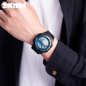 SKMEI Jam Tangan Digital Pria Pedometer Compass - 1424 - Black - 6