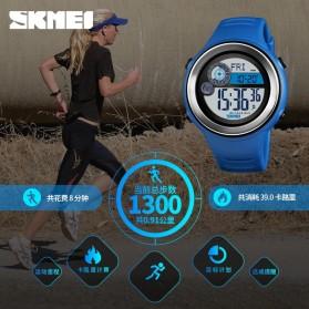 SKMEI Jam Tangan Digital Pria Pedometer Compass - 1395 - Black/Silver - 2