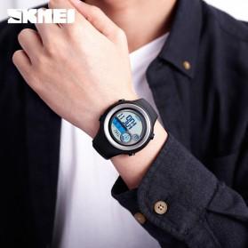 SKMEI Jam Tangan Digital Pria Pedometer Compass - 1395 - Black/Silver - 6