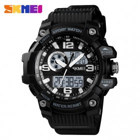 SKMEI Jam Tangan Digital Wanita Waterproof Fashion Sport - 1436 - Black