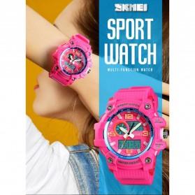 SKMEI Jam Tangan Digital Wanita Waterproof Fashion Sport - 1436 - Black - 2
