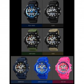 SKMEI Jam Tangan Digital Wanita Waterproof Fashion Sport - 1436 - Black - 3