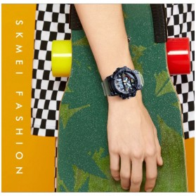SKMEI Jam Tangan Digital Wanita Waterproof Fashion Sport - 1436 - Black - 7