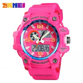 SKMEI Jam Tangan Digital Wanita Waterproof Fashion Sport - 1436 - Rose