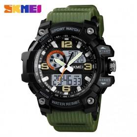 SKMEI Jam Tangan Digital Wanita Waterproof Fashion Sport - 1436 - Army Green