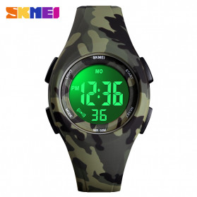 SKMEI Kids Jam Tangan Digital Anak - 1459 - Green