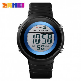 SKMEI Jam Tangan Digital Pria - 1497 - Blue/White