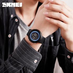 SKMEI Jam Tangan Digital Pria - 1497 - Blue/White - 4