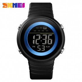 SKMEI Jam Tangan Digital Pria - 1497 - Blue/Black