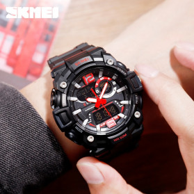 SKMEI Jam Tangan Analog Digital Pria - 1529 - Black - 4