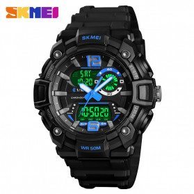 SKMEI Jam Tangan Analog Digital Pria - 1529 - Blue