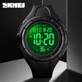 SKMEI Jam Tangan Digital Pria - 1535 - Black/Black - 2