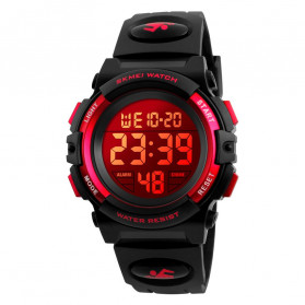 SKMEI Kids Jam Tangan Sporty Anak - 1266 - Red