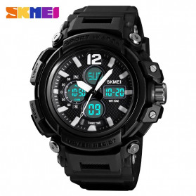 SKMEI Jam Tangan Analog Digital Pria - 1498 - Black