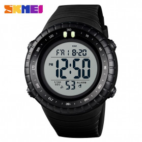 SKMEI Jam Tangan Digital Pria - 1420 - Black White