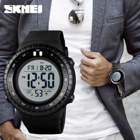 SKMEI Jam Tangan Digital Pria - 1420 - Black White - 2
