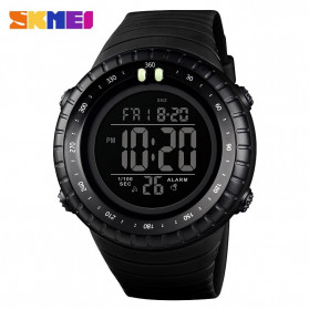 SKMEI Jam Tangan Digital Pria - 1420 - Black/Black