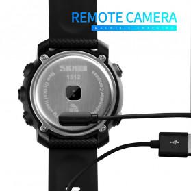 SKMEI Jam Tangan Smartwatch Pria Bluetooth Pedometer Compass Heartrate - 1511 - Black - 5