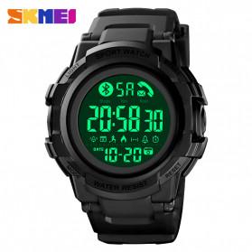 SKMEI Jam Tangan Smartwatch Pria Bluetooth Pedometer - 1501 - Black