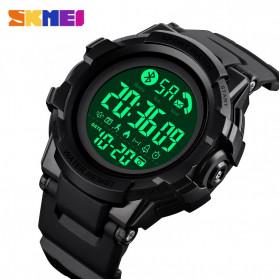 SKMEI Jam Tangan Smartwatch Pria Bluetooth Pedometer - 1501 - Black - 2