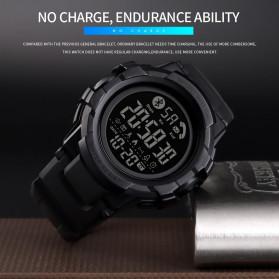 SKMEI Jam Tangan Smartwatch Pria Bluetooth Pedometer - 1501 - Black - 4