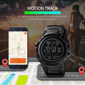 SKMEI Jam Tangan Smartwatch Pria Bluetooth Pedometer - 1501 - Black - 5
