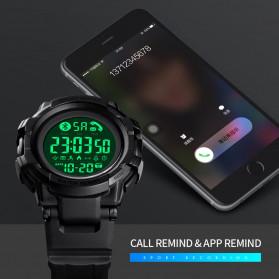 SKMEI Jam Tangan Smartwatch Pria Bluetooth Pedometer - 1501 - Black - 6