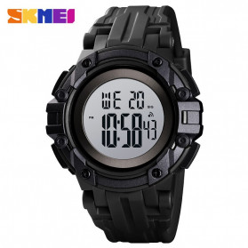 SKMEI Jam Tangan Digital Pria  - 1545 - Black White