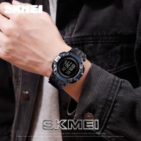 SKMEI Jam Tangan Digital Pria  - 1545 - Black White - 4