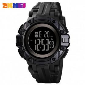 SKMEI Jam Tangan Digital Pria  - 1545 - Black/Black