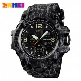 SKMEI Jam Tangan Analog Digital Pria - AD1155B - Gray/Black