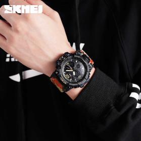 SKMEI Jam Tangan Analog Digital Pria - AD1155B - Gray/Black - 4