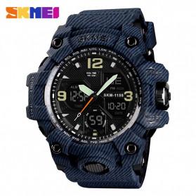 SKMEI Jam Tangan Analog Digital Pria - AD1155B - Dark Blue