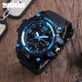 SKMEI Jam Tangan Analog Digital Pria - AD1155B - Dark Blue - 2