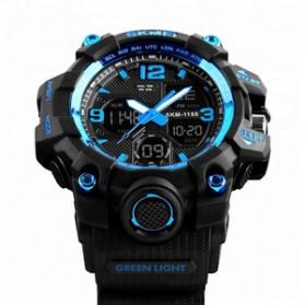 SKMEI Jam Tangan Analog Digital Pria - AD1155B - Dark Blue - 3
