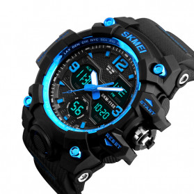 SKMEI Jam Tangan Analog Digital Pria - AD1155B - Blue