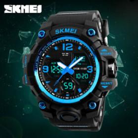SKMEI Jam Tangan Analog Digital Pria - AD1155B - Blue - 5