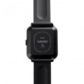 SKMEI Jam Tangan Digital Pria Silicone - 1566 - Black - 2