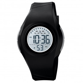 SKMEI Kids Jam Tangan Digital Anak - 1556 - Black
