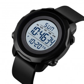 SKMEI Jam Tangan Digital Sporty Pria - 1540 - Black White - 2