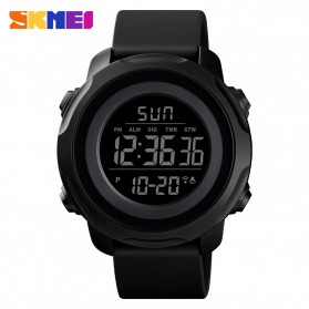 SKMEI Jam Tangan Digital Sporty Pria - 1540 - Black