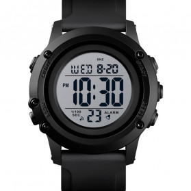 SKMEI Jam Tangan Digital Adventure Pria - 1506 - Black White