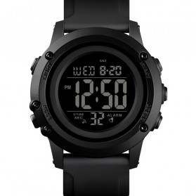 SKMEI Jam Tangan Digital Adventure Pria - 1506 - Black/Black