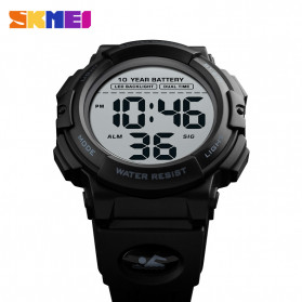 SKMEI Jam Tangan Digital Pria - 1562 - Black - 5
