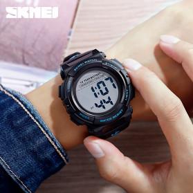 SKMEI Jam Tangan Digital Pria - 1562 - Blue - 8
